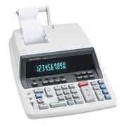 Sharp® QS-1760H Two-Color Commercial Ribbon Printing Calculator, Black; Red (EL501WBBK)