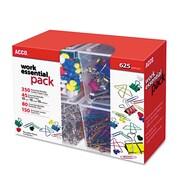 "ACCO Club Clip Pack, 9.75"" x 3.312"", Assorted (A7076233)"