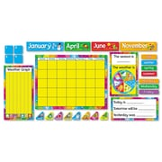 TREND® Year Around Calendar Bulletin Board Set, Classroom Decorations-Calendar Sets, 1/Set (T8096)