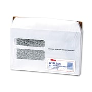 TOPS® Double Window Tax Form Envelope, White, 9 x 5 5/850/Pack (2219LESR)