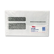 TOPS® Double Window Tax Form Envelope, White, 9 x 5 5/824/Pack (2219R)