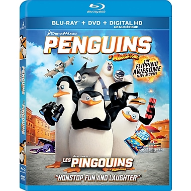 Penguins of Madagascar (Blu-Ray/DVD)