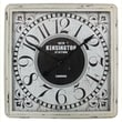 "Yosemite Home Decor 32""H x 32""W x 2.8""D White Wall Clock"
