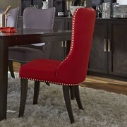 Liberty Furniture Parson Chair; Red