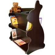 Ace Baby Furniture Rabbit Mobile Double Sided 41.5'' Bookcase; Espresso Wenge