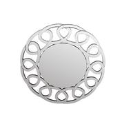 Privilege Beveled Oval Link Wall Mirror