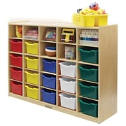 ECR4Kids 25 Tray Cabinet; Assorted