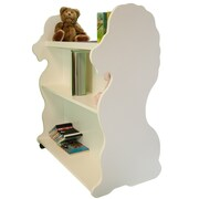 Ace Baby Furniture Lion Mobile Double Sided 41.5'' Bookcase; White