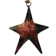 Foreign Affairs Home Decor Recycled Oil Drum Star Ornament