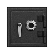 Blue Dot Safes B Rated Lock Utility Safe 1.20 CuFt; Combination Dial and Mechanical lock