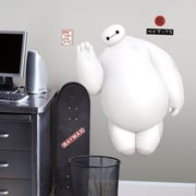 Room Mates Popular Characters Big Hero 6 White Baymax Wall Decal