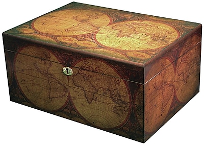 Quality Importers Old World Humidor WYF078277687531