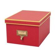 Resource International Cargo Atheneum Media Box; Red