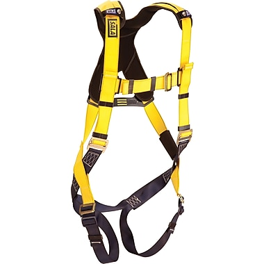 DBI Sala Delta™ Harnesses, Standard Vest Style with Pass-Through Leg Connection, Universal