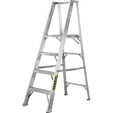 Featherlite Industrial Heavy-Duty Aluminum Platform Stepladders (3500 Series)