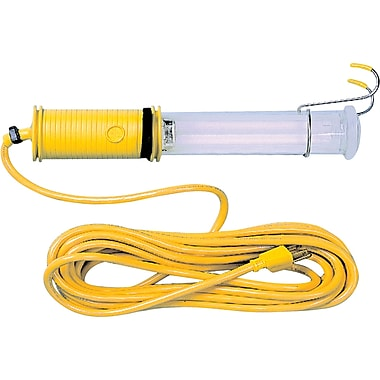 Lind Equipment Vapour-Proof Fluorescent Work Lights, Yellow 18/2 SJTOW Cable Type