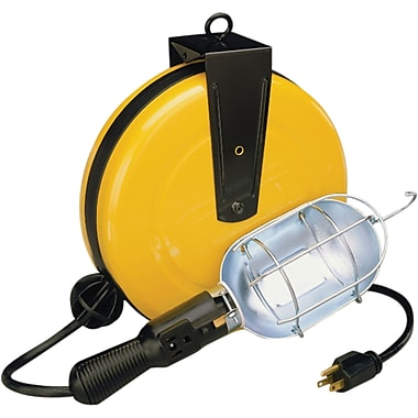 Lind Equipment Incandescent Work Light Reels, 30'