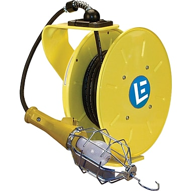 Lind Equipment LE9000 Series Heavy-Duty Cord Reels, Incandescent Light, 30' Cord