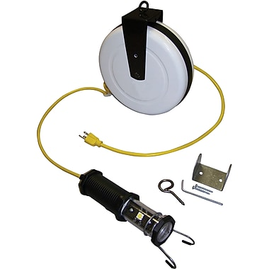 Lind Equipment Heavy-Duty LED Work Lights with Cord Reels