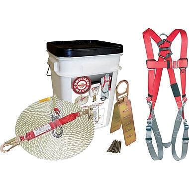 Protecta Compliance-In-A-Can™ Fall Protection Kit with Shock Absorbing Lanyard