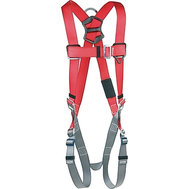 Protecta Pro™ Harnesses with Back D-Rings and Pass-Through Leg Connections