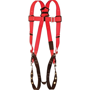 Protecta Pro™ Harnesses with Back D-Rings and Tongue-Buckle Leg Connections