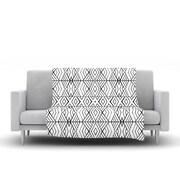 KESS InHouse Tribal Expression by Pom Graphic Design Fleece Throw Blanket; 40'' H x 30'' W x 1'' D
