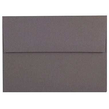 JAM Paper – Enveloppes A8 simples foncées, gris foncé, 250/paquet