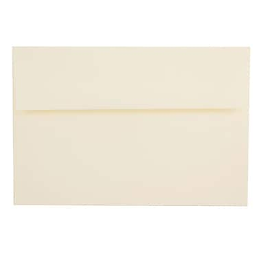 JAM Paper® A8 Invitation Envelopes, 5.5 x 8.125, Strathmore Natural White Laid, 25/pack (75134)
