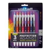 uni-ball® Signo 207 Retractable Gel Pens, Medium, 0.7 mm, Assorted, 8/pk (1739929)