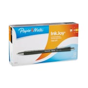 Paper Mate® InkJoy 700 Ballpoint Retractable Pen, Medium Point, Black Barrel/Black Ink, 12/pk (1781573)