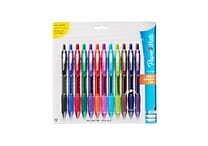 Paper Mate® Profile Retractable Ballpoint Pen, Bold Point 1.4 mm, Assorted Colors, 12/pk (1819568)