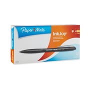 Paper Mate® InkJoy 500 Ballpoint Retractable Pen, Medium Point, Black, 12/pk (1803493)