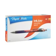 Paper Mate® InkJoy 550 Retractable Ballpoint Pen Set, Medium Point, Red, 12/pk (1803504)