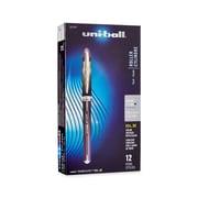 uni-ball® Vision Elite BLX Series Pens, 0.5 mm, Purple/Black, 12/pk (1832407)