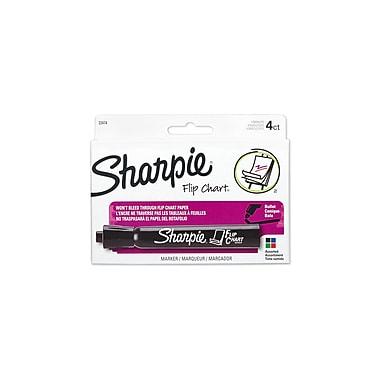 Sharpie® Flip Chart Markers, Assorted, 4/pk (22474)
