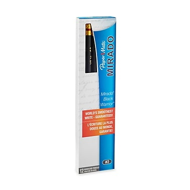 Paper Mate® Mirado® Black Warrior® #2 Pencil, Black, 12/pk (2254)