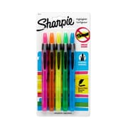 Sharpie® Accent® Retractable Pocket Highlighters, Chisel Tip, Assorted Colors, 5/pk (28175PP)