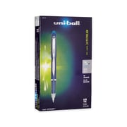 uni-ball® Jetstream Rollerball Pen, Fine Point, Blue, 12/pk (40174)