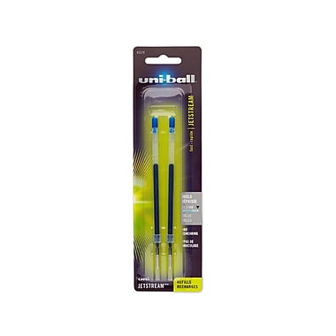 uni-ball® Jetstream Retractable Pen Refills, Bold Point, Blue, 2/pk (45574PP)