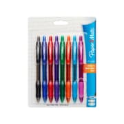 Paper Mate® Profile Retractable Ballpoint Pen, Bold Point 1.4 mm, Assorted Colors, 8/pk (54549)