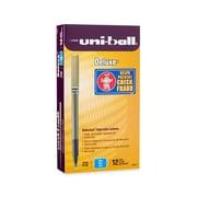 uni-ball® Deluxe Rollerball Pen, Micro Point, Blue, 12/pk (60027)