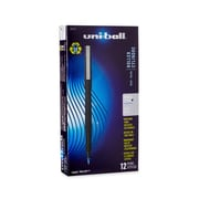 uni-ball® Roller Pen, Micro Point, Blue, 12/pk (60153)