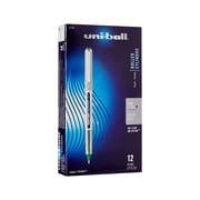uni-ball® VISION Stick Rollerball Pen, 0.7 mm Fine, Evergreen, 12/pk (60386)