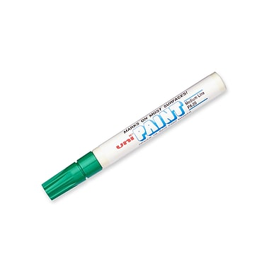 uni® Paint Marker, Medium Point, Green (63604)
