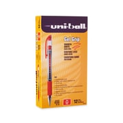 uni-ball® Gel Grip Pen, Medium Point, Red, 12/pk (65452)
