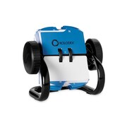 """Rolodex® Metal Open Rotary Card File,  Black, 1 3/4"""" x 3 1/4"""", 250 Card Capacity"""