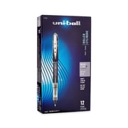 uni-ball® Vision Elite Rollerball Pens, Micro Point, Black, 12/pk (69000)