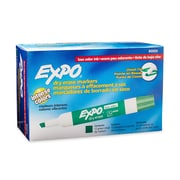Expo® Low Odor Dry-Erase Markers, Chisel Tip, Green, 12/pk (80004)