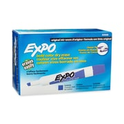 Expo® Dry-Erase Markers, Chisel Tip, Purple, 12/pk (83008)